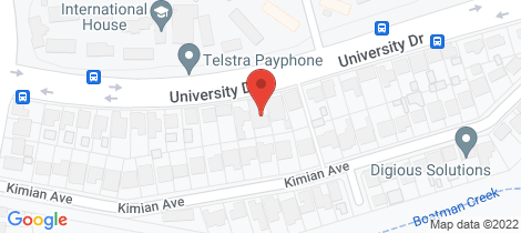 Location map for 41A University Drive Waratah West