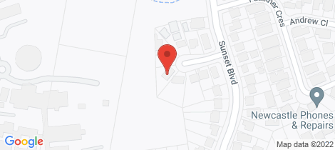 Location map for 9 Kindra Place North Lambton