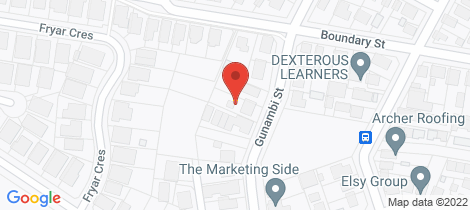 Location map for 8 Gunambi Street Wallsend