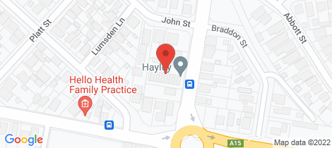 Location map for 6/33 Longworth Avenue Wallsend
