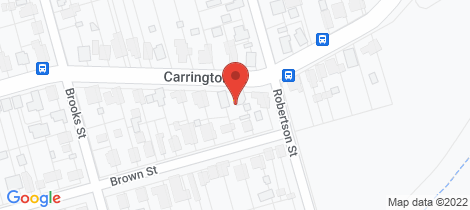 Location map for 16 Carrington Street West Wallsend
