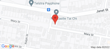 Location map for 36 Mary Street Jesmond