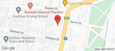 Location map for 1/41-43 TURTON ROAD Waratah