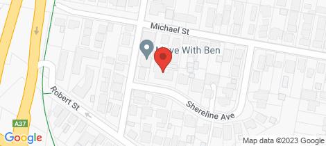 Location map for 9/3 Shereline Avenue Jesmond