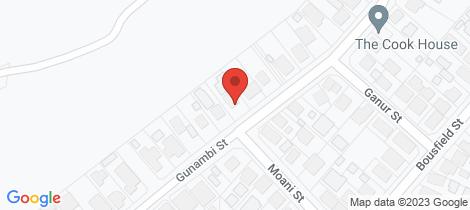 Location map for 56 Gunambi Street Wallsend