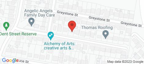 Location map for 22 Merivale Street North Lambton