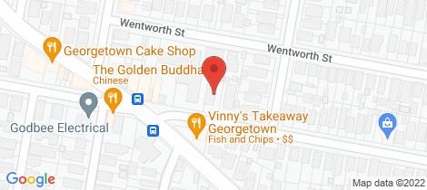 Location map for 3/24 Moate Street Georgetown