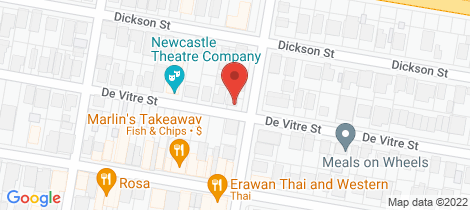 Location map for 39 Morehead Street Lambton