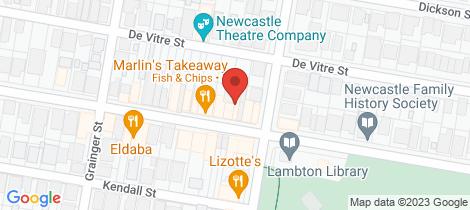 Location map for 90 Elder Street Lambton