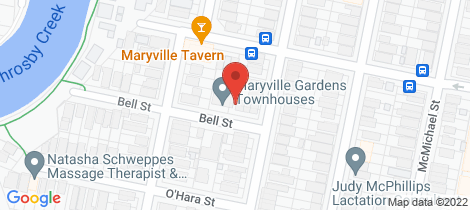 Location map for 1/60 Downie Street Maryville