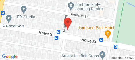 Location map for 80 Howe Street Lambton