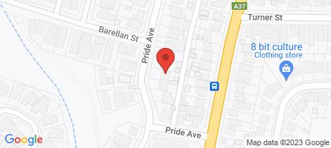 Location map for 27 Pride Avenue Lambton