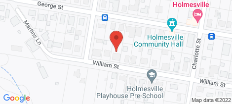 Location map for 35 William Street Holmesville