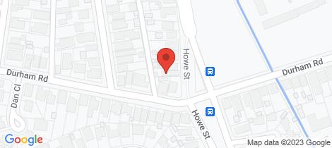 Location map for 1/15 Howe Street Lambton