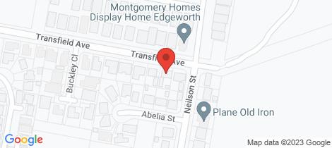 Location map for 92 Transfield Avenue Edgeworth