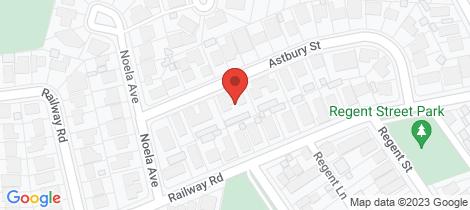 Location map for 6/21 Astbury Street New Lambton