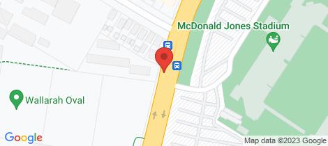 Location map for 7/303 Turton Road New Lambton