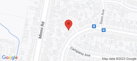 Location map for 17 Harper Street Edgeworth