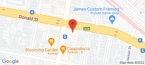 Location map for 31-33 Beaumont Street Hamilton