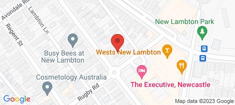 Location map for 286 Lambton Road New Lambton