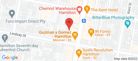 Location map for 80 Beaumont Street Hamilton