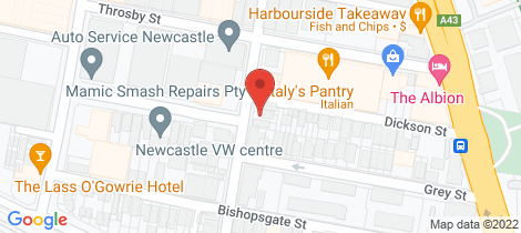 Location map for 15 Union Street Wickham