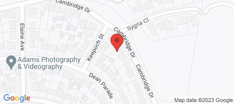 Location map for 41 Cambridge Drive Rankin Park