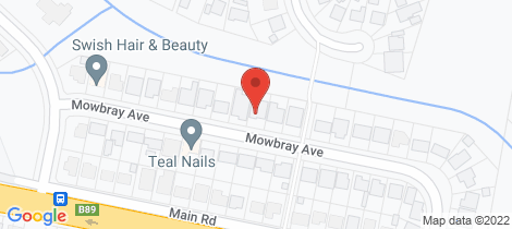 Location map for 32 Mowbray Ave Edgeworth