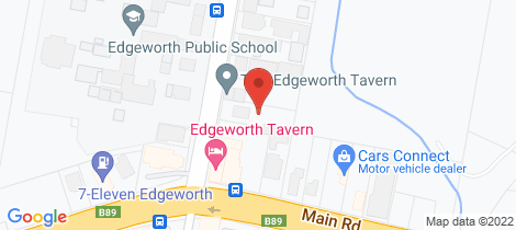 Location map for 4 Minmi Road Edgeworth