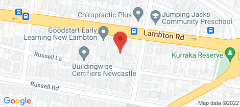 Location map for 195a Lambton Road New Lambton