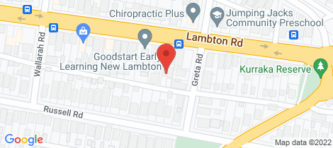 Location map for 195a Lambton Road New Lambton