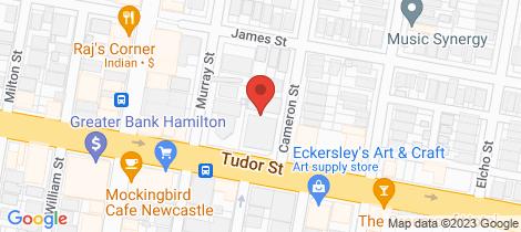 Location map for 20/34 Cameron Street Hamilton
