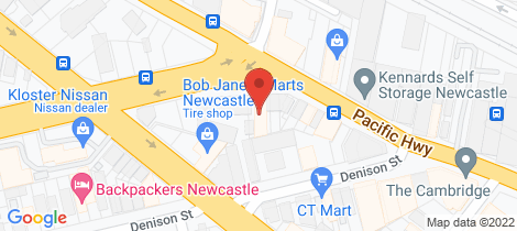 Location map for 3 Tudor Street Newcastle West
