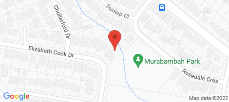 Location map for 10 Elizabeth Cook Drive Rankin Park