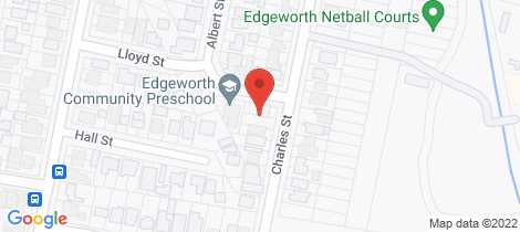Location map for 13 Charles St Edgeworth