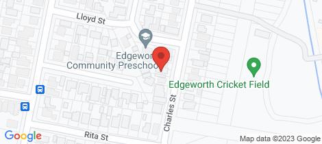 Location map for 17 Charles Street Edgeworth