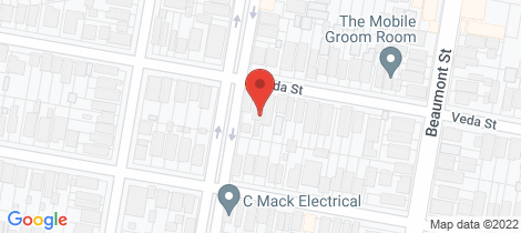 Location map for 51 Veda Street Hamilton