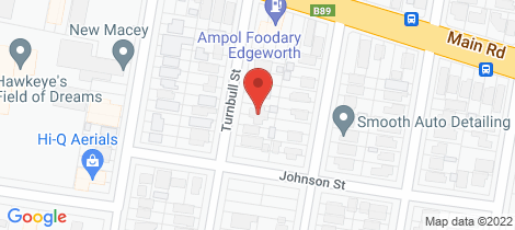 Location map for 42 Turnbull Street Edgeworth