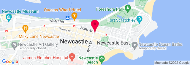 Map for Great Northern Hotel