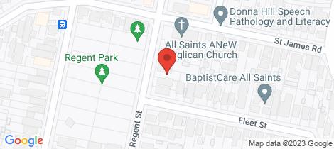 Location map for 25 Regent Street New Lambton