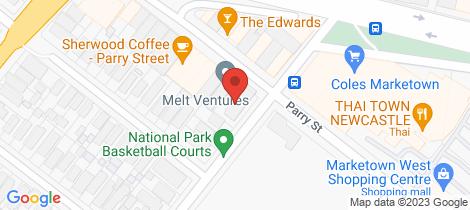 Location map for 3/32 National Park Street Hamilton East
