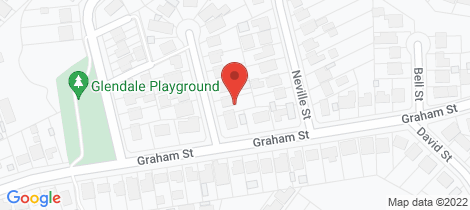 Location map for 1 Lance Street Glendale