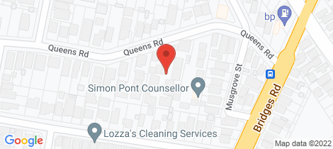 Location map for 3/22 Queens Road New Lambton