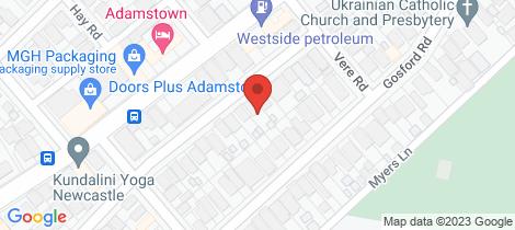 Location map for 11 Narara Road Adamstown