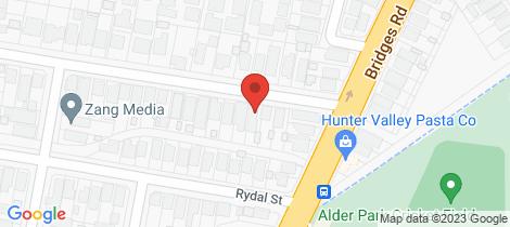 Location map for 5 Henley Street New Lambton