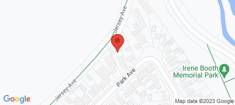 Location map for 1/31 Park Avenue Argenton