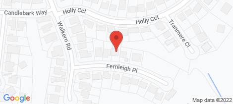 Location map for 7 Fernleigh Place New Lambton Heights