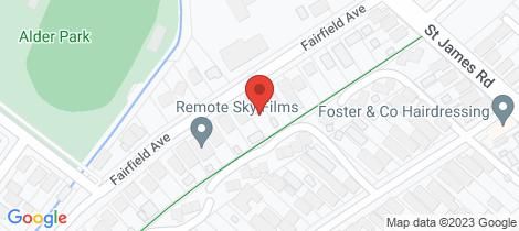 Location map for 17 Fairfield Avenue New Lambton