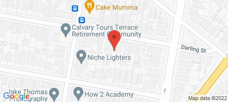 Location map for 13 Darling Street Hamilton South