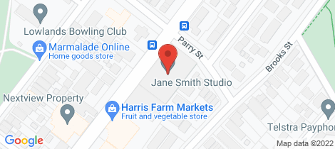 Location map for 10/215 Darby Street Cooks Hill